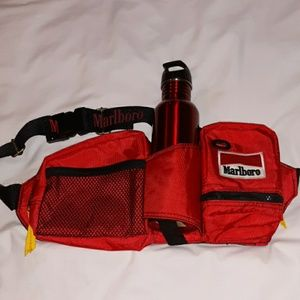 Vintage Marlboro Belt Bag Survival Fanny Pack